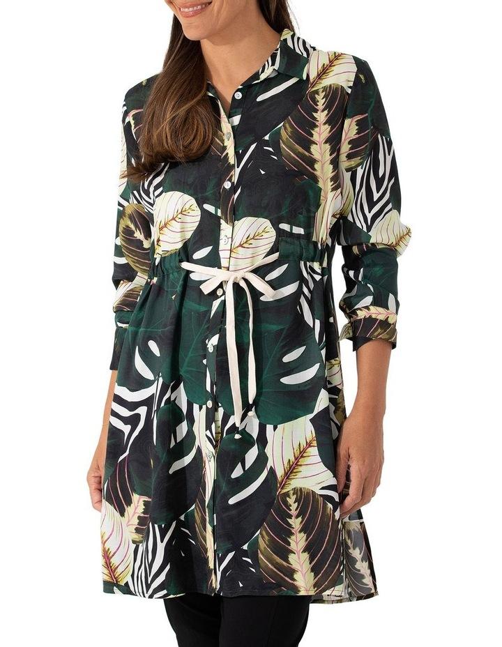 Long Sleeve Longline Tropics Shirt image 1