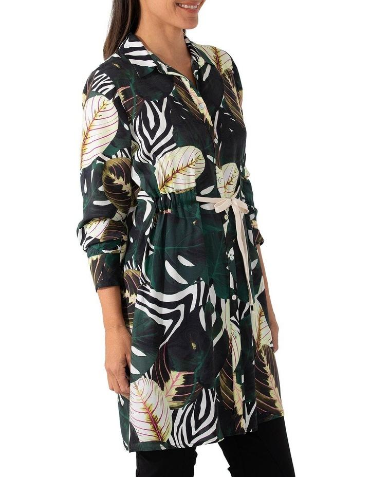 Long Sleeve Longline Tropics Shirt image 4