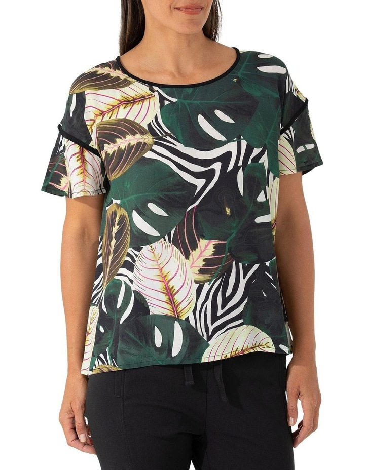 Short Sleeve Tropics Top image 1