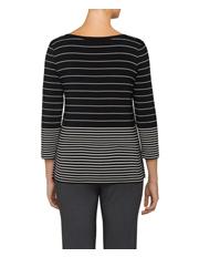 Calvin Klein White - Stripe Long Sleeve Knit