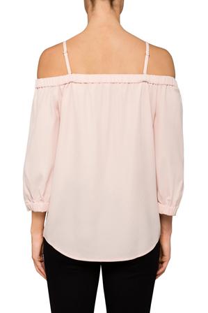 Calvin Klein White - Off Shoulder Top