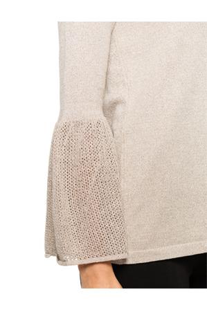 Calvin Klein White - Bell Sleeve Sweater