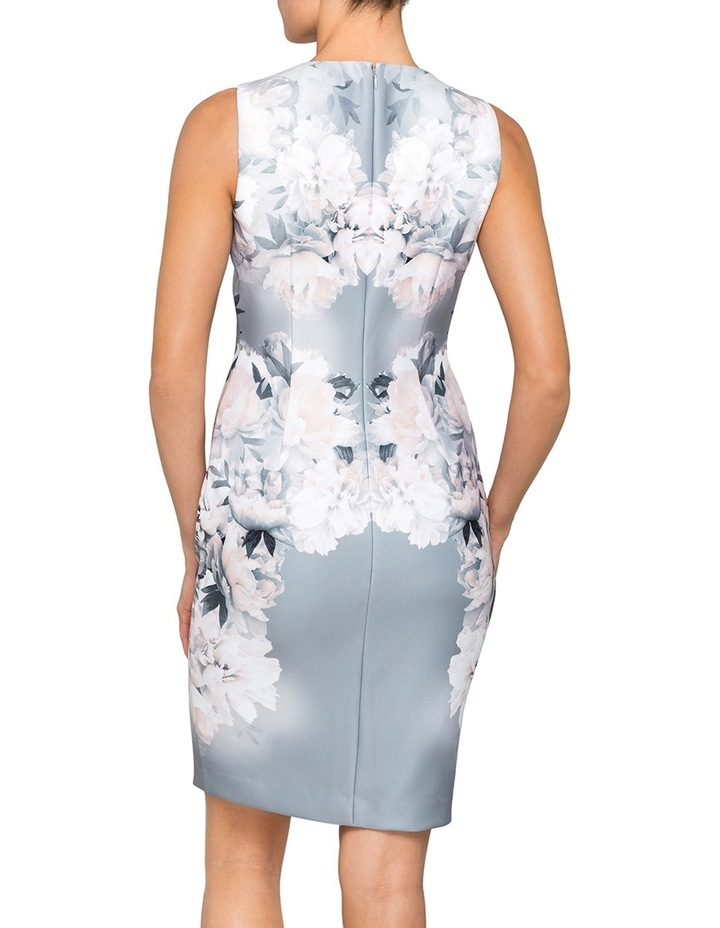 Scuba Floral Print Dress image 2