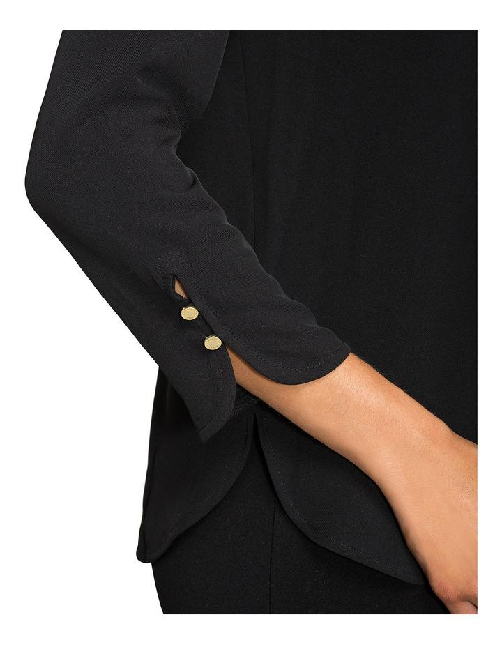 Zip Back Bell Sleeve Top image 3