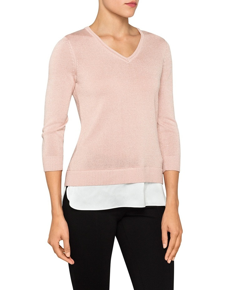 Long Sleeve Knit Top image 1