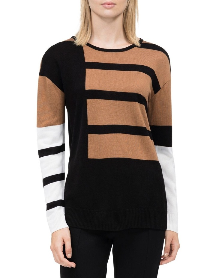 STRIPED SWEATER image 1