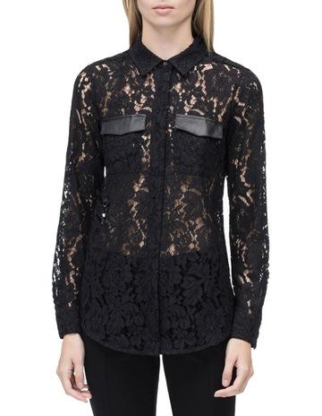 d94efb41 CK White Label Lace Long Sleeve Shirt
