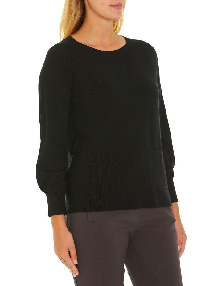 Long Sleeve Pocket Sweater image 2