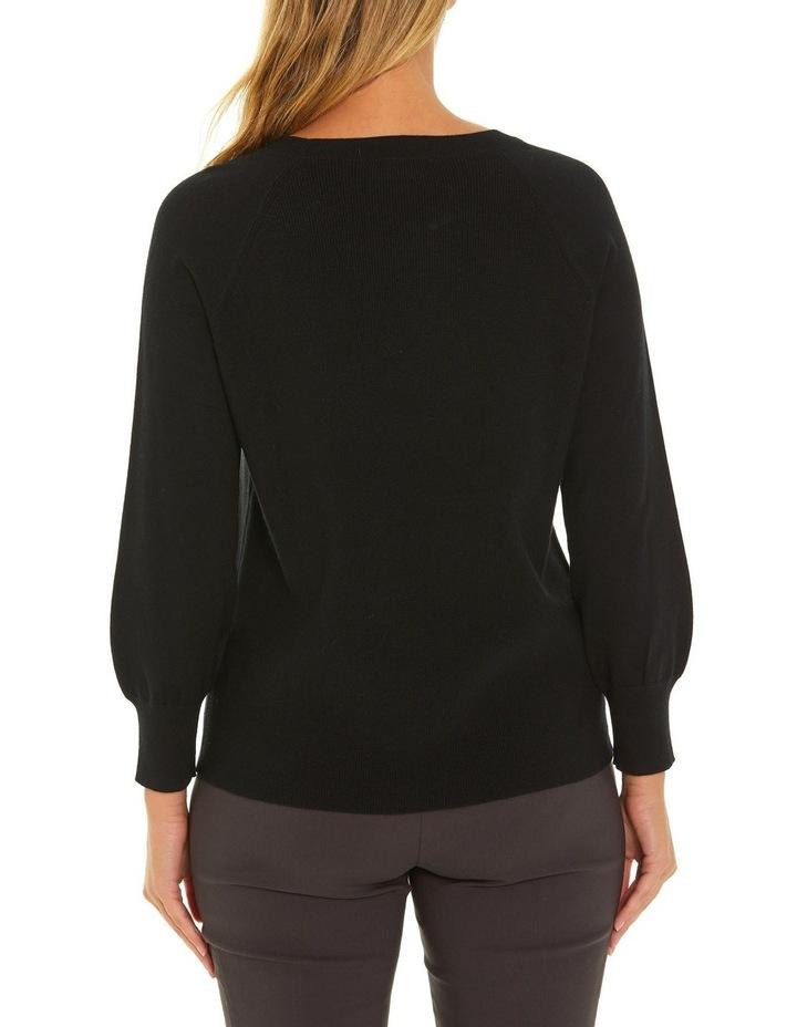Long Sleeve Pocket Sweater image 3