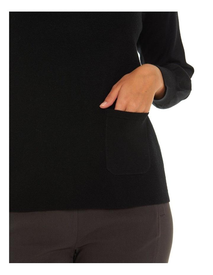 Long Sleeve Pocket Sweater image 4
