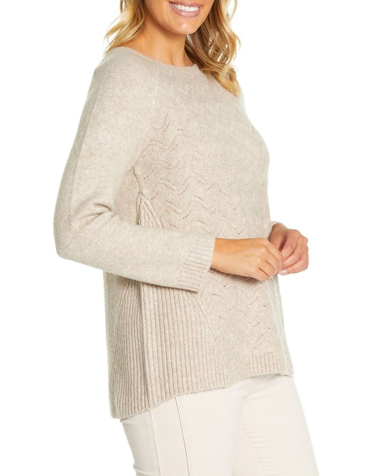 Long Sleeve Wave Cable Knit image 2
