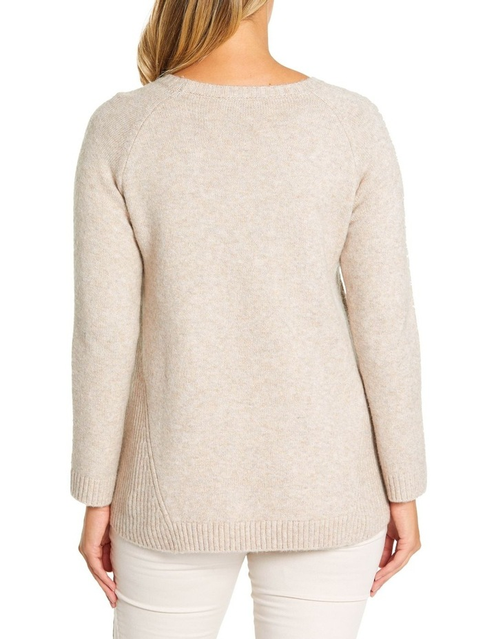 Long Sleeve Wave Cable Knit image 3