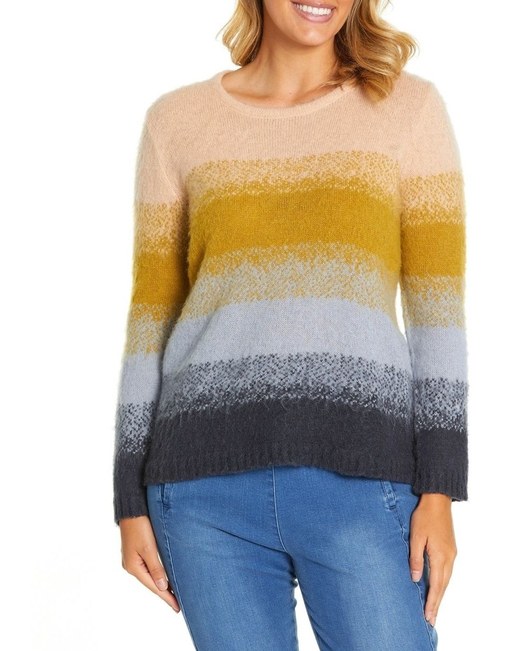 Long Sleeve Gradient Sweater image 1