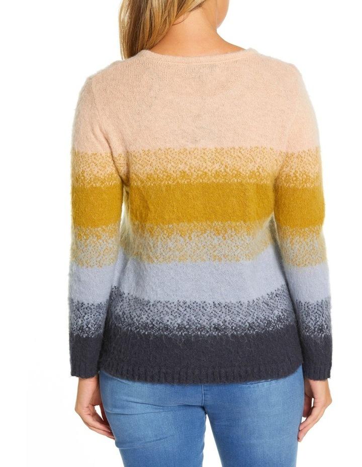 Long Sleeve Gradient Sweater image 3