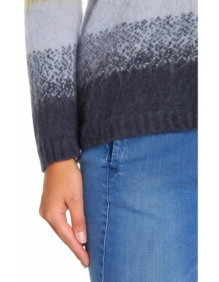 Long Sleeve Gradient Sweater image 4