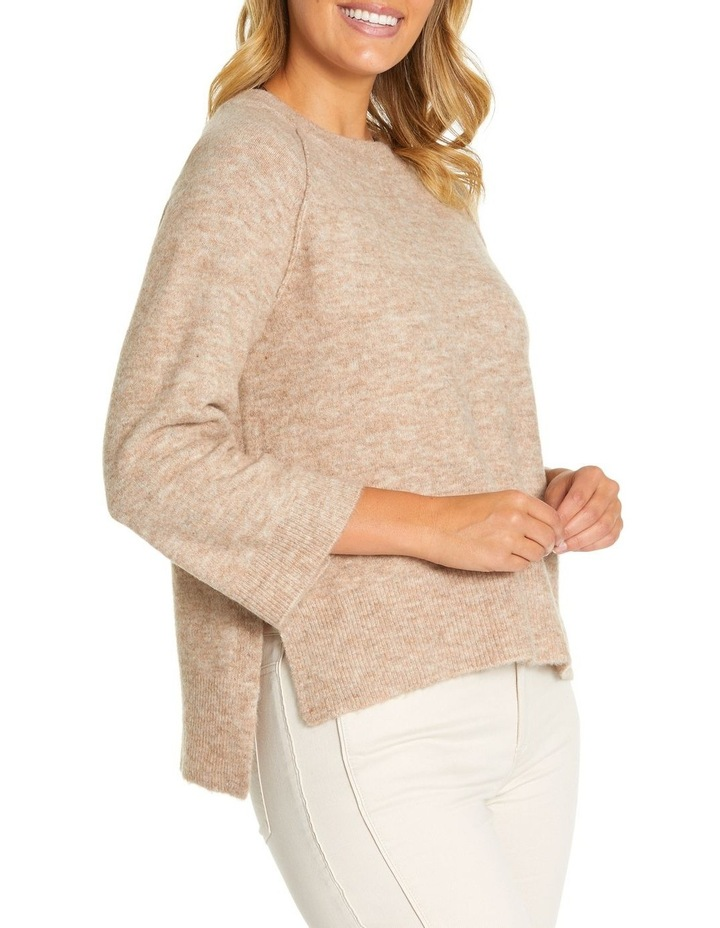 3/4 Relaxed Knit Sweater image 2