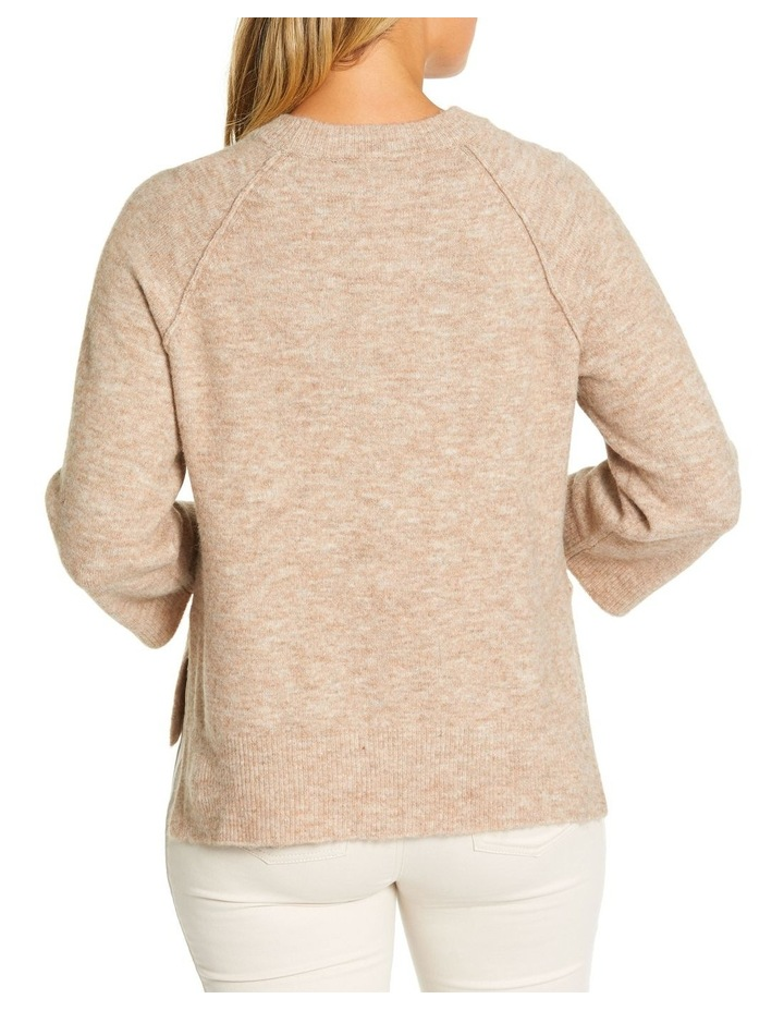 3/4 Relaxed Knit Sweater image 3