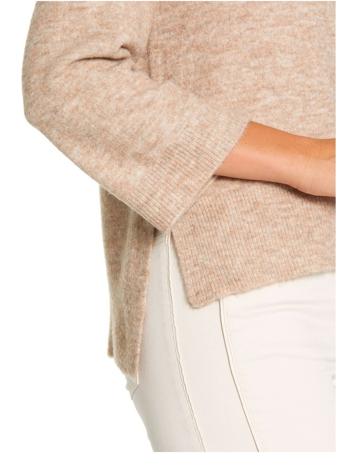 3/4 Relaxed Knit Sweater image 4