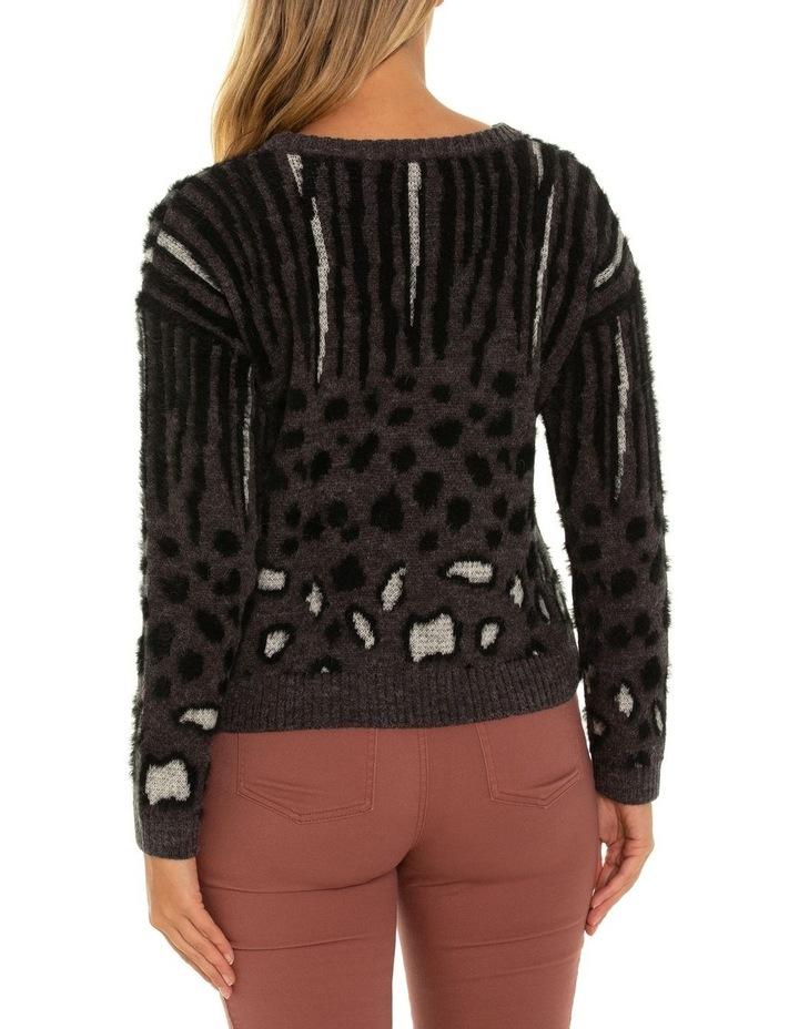 Long Sleeve Animal Sweater image 3