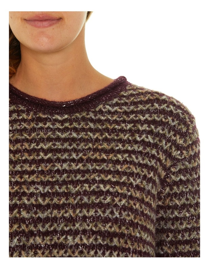 Long Sleeve Cross Knit Sweater image 4