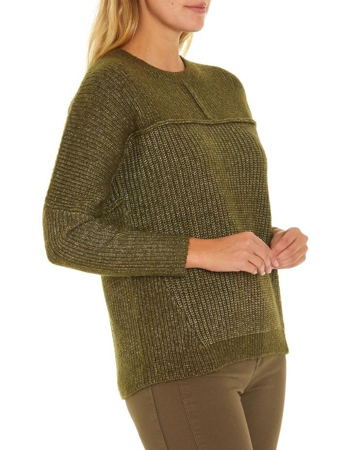Long Sleeve Chunky Rib Sweater image 2