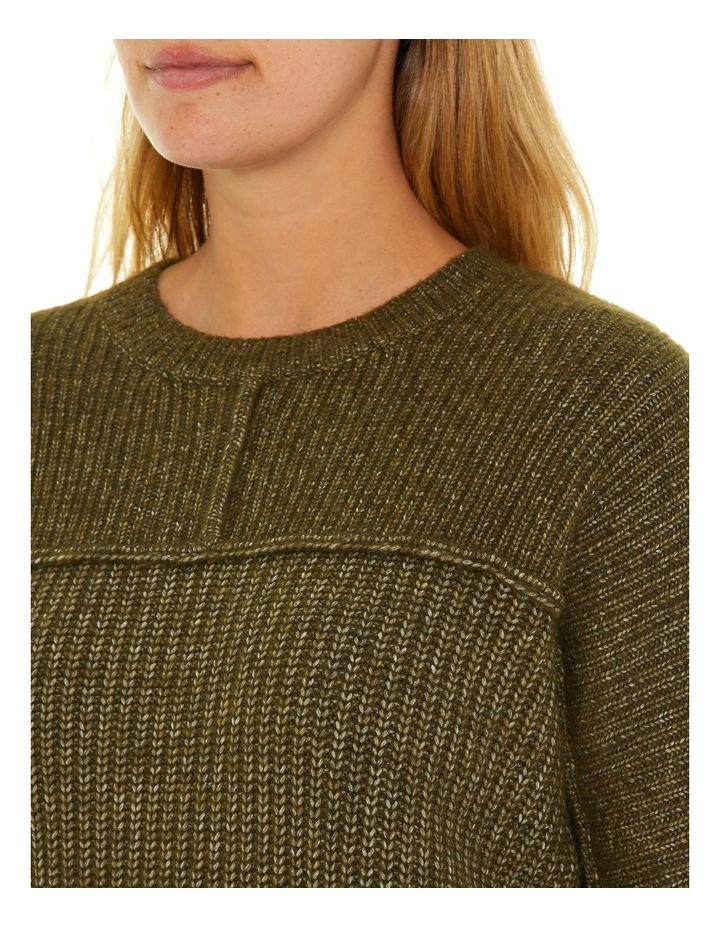 Long Sleeve Chunky Rib Sweater image 4