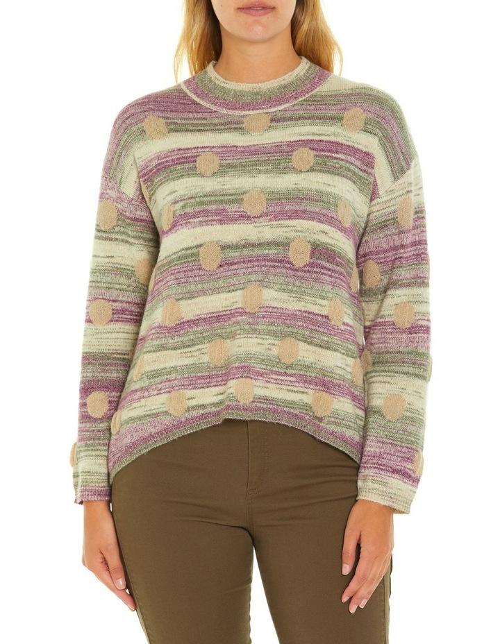 Long Sleeve Spot Sweater image 1