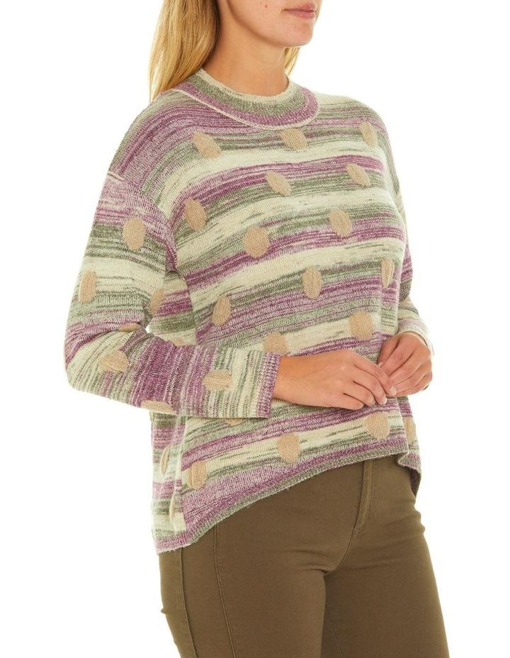 Long Sleeve Spot Sweater image 2