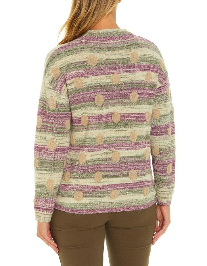 Long Sleeve Spot Sweater image 3