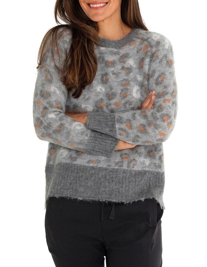 Long Sleeve Animal Sweater image 1