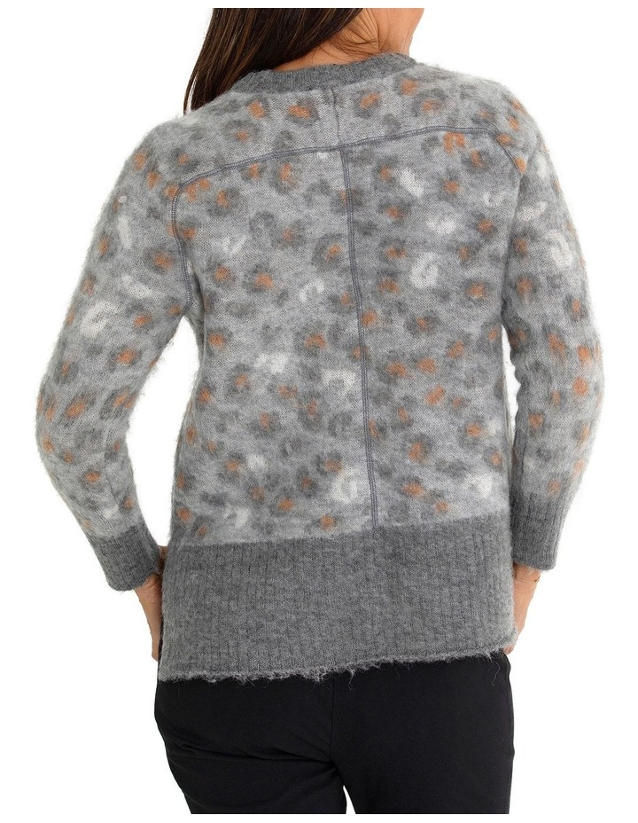 Long Sleeve Animal Sweater image 2