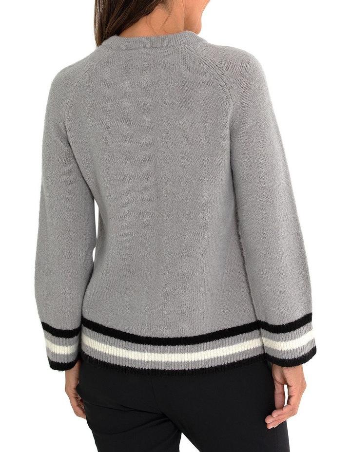 Long Sleeve Stripe Sweater image 2