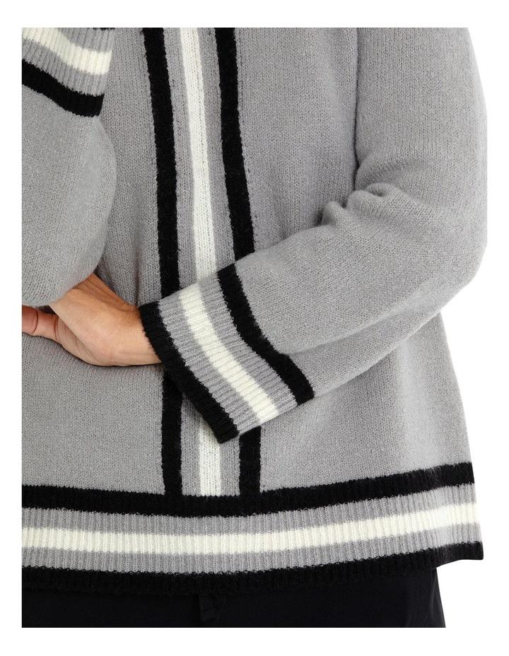 Long Sleeve Stripe Sweater image 4