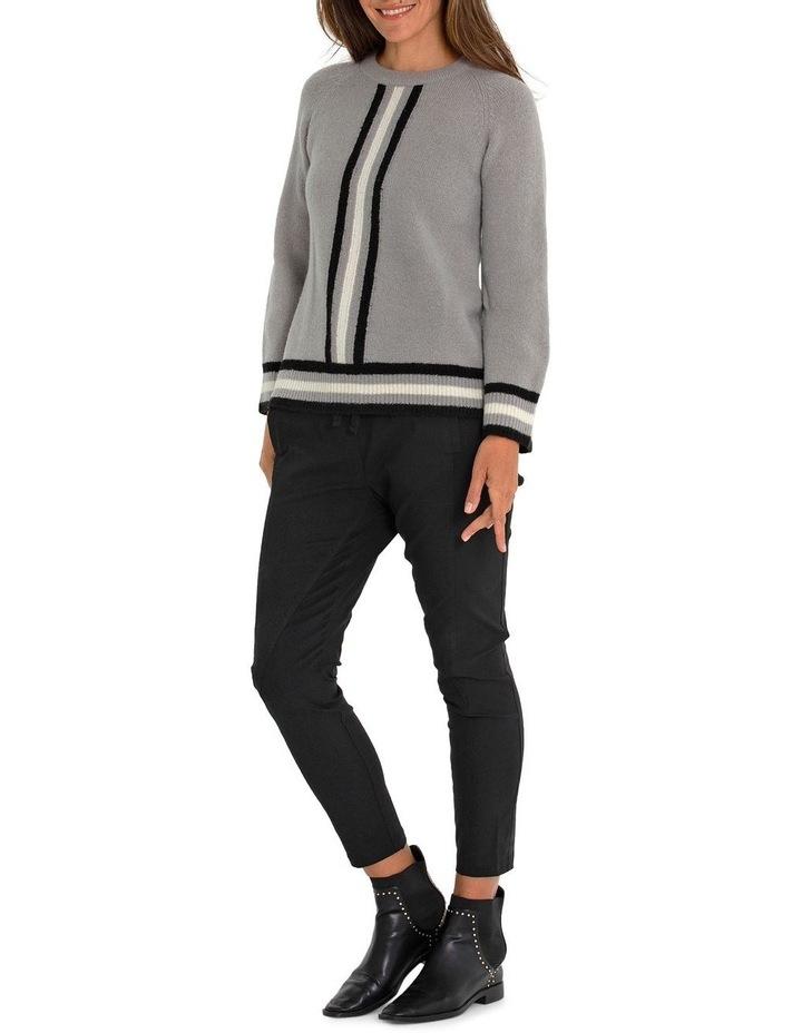Long Sleeve Stripe Sweater image 5