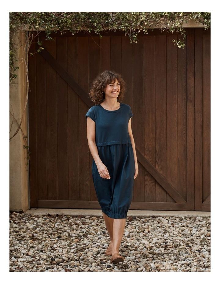 Short Sleeve Contrast Dress image 2