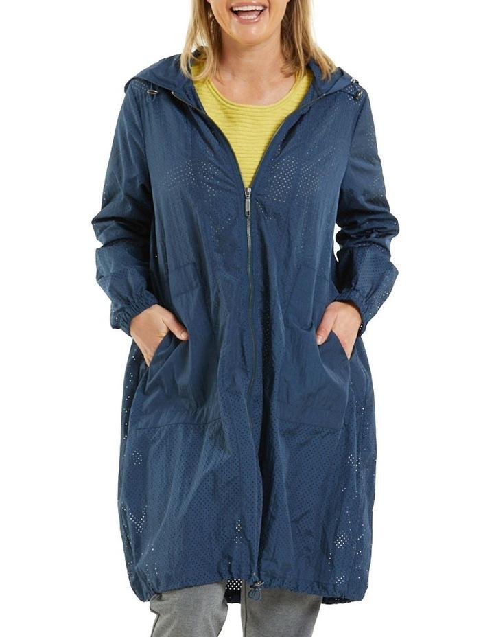Long Sleeve Perforated Jacket image 1
