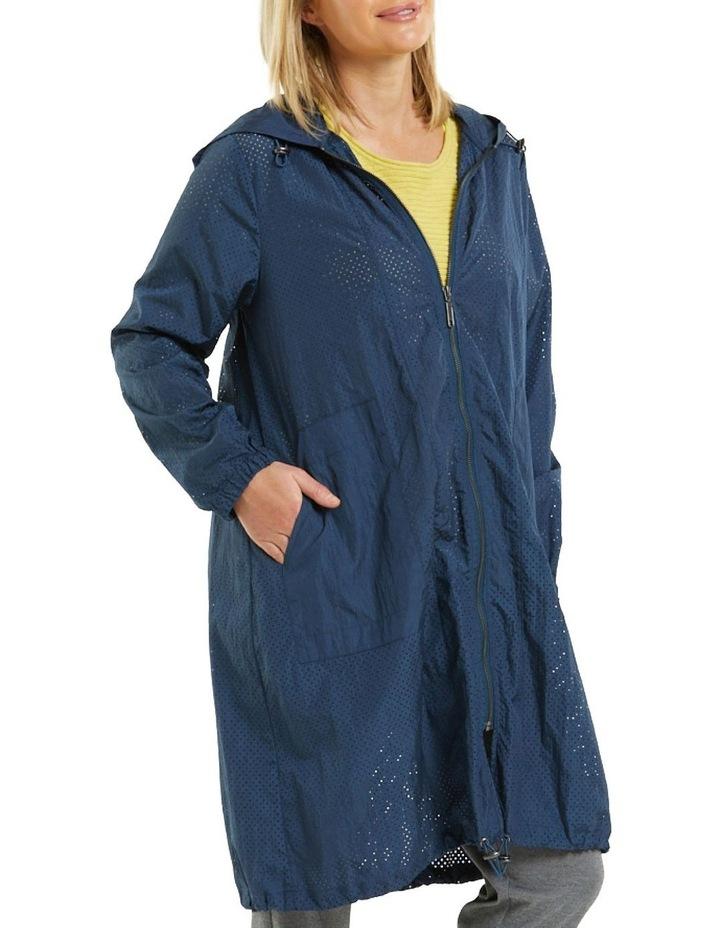Long Sleeve Perforated Jacket image 3