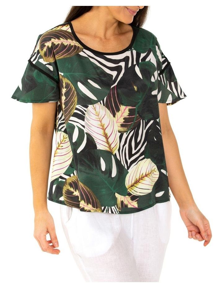 Short Sleeve Tropics Blouse Urban Tropics image 3