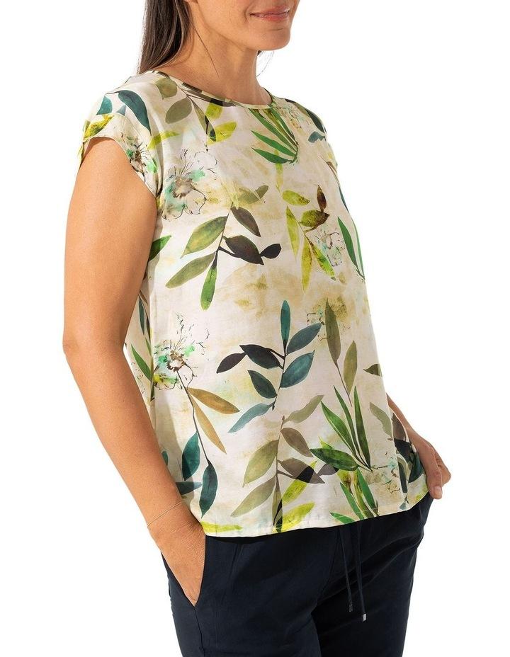 Short Sleeve Foliage Top image 3