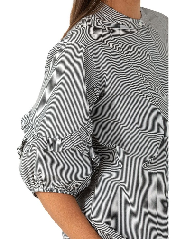 Elbow Pin Stripe Top image 4