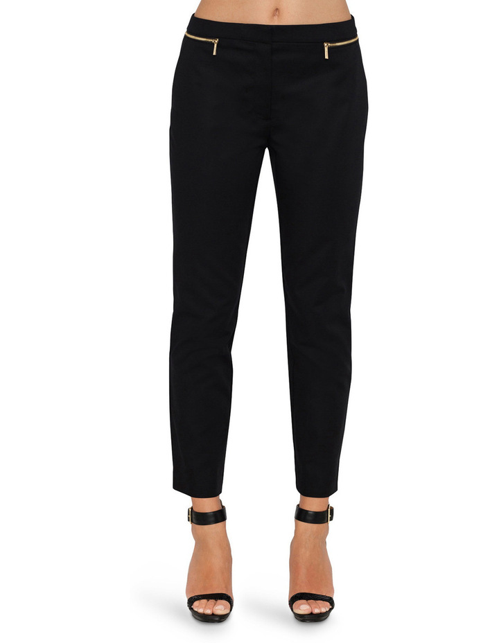 White Label Pants Ankle Pant W/zips image 1
