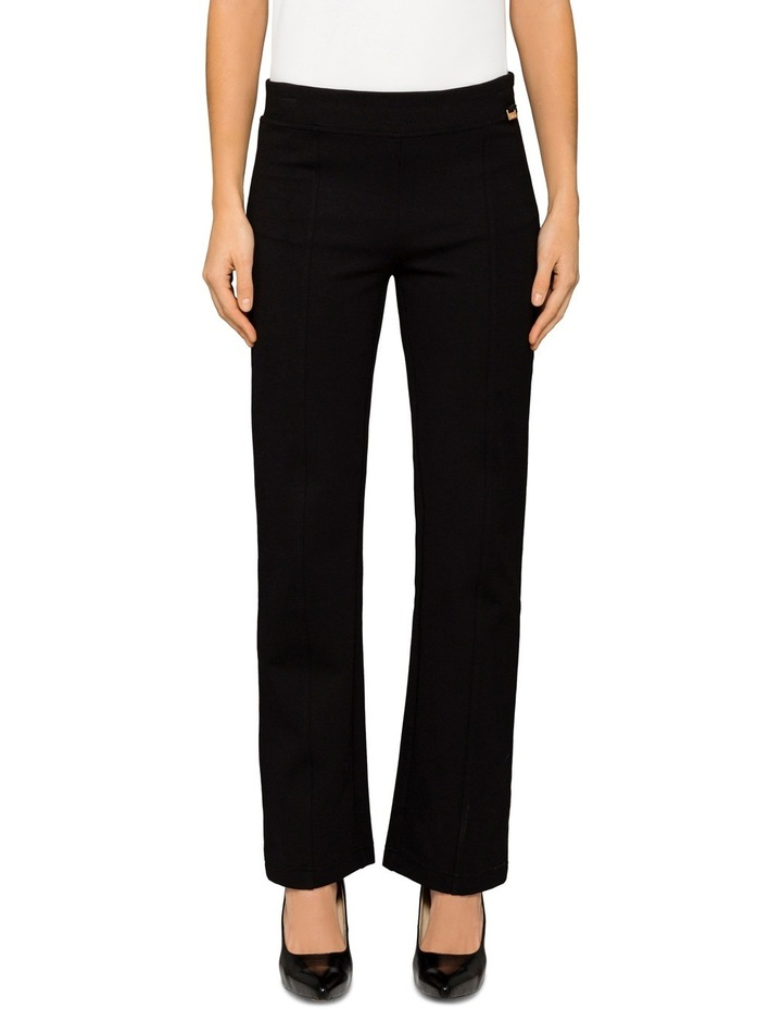 Modern Essential Wide Leg Ponte Trouser image 1