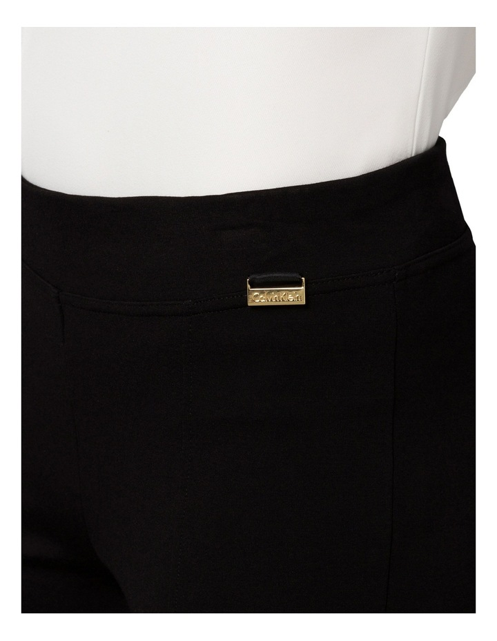 Modern Essential Wide Leg Ponte Trouser image 3