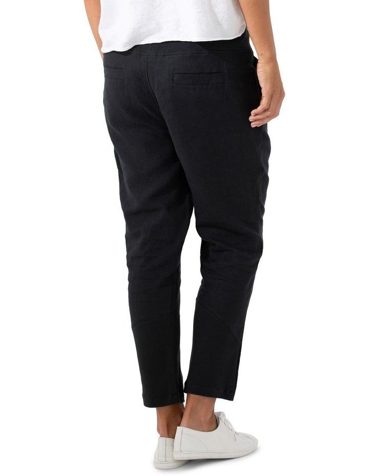 3/4 Rib Linen Pant image 2
