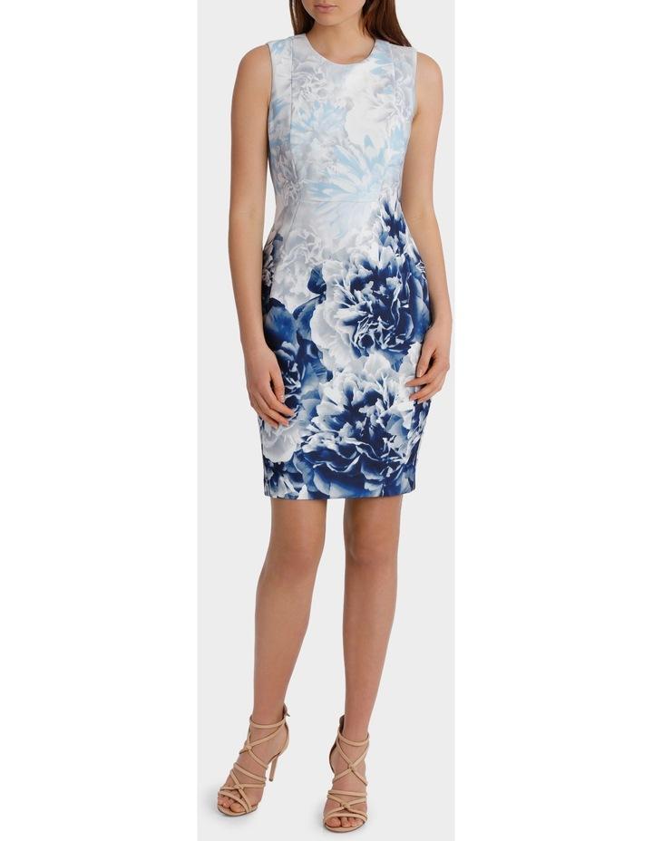 Printed Scuba Dress image 1