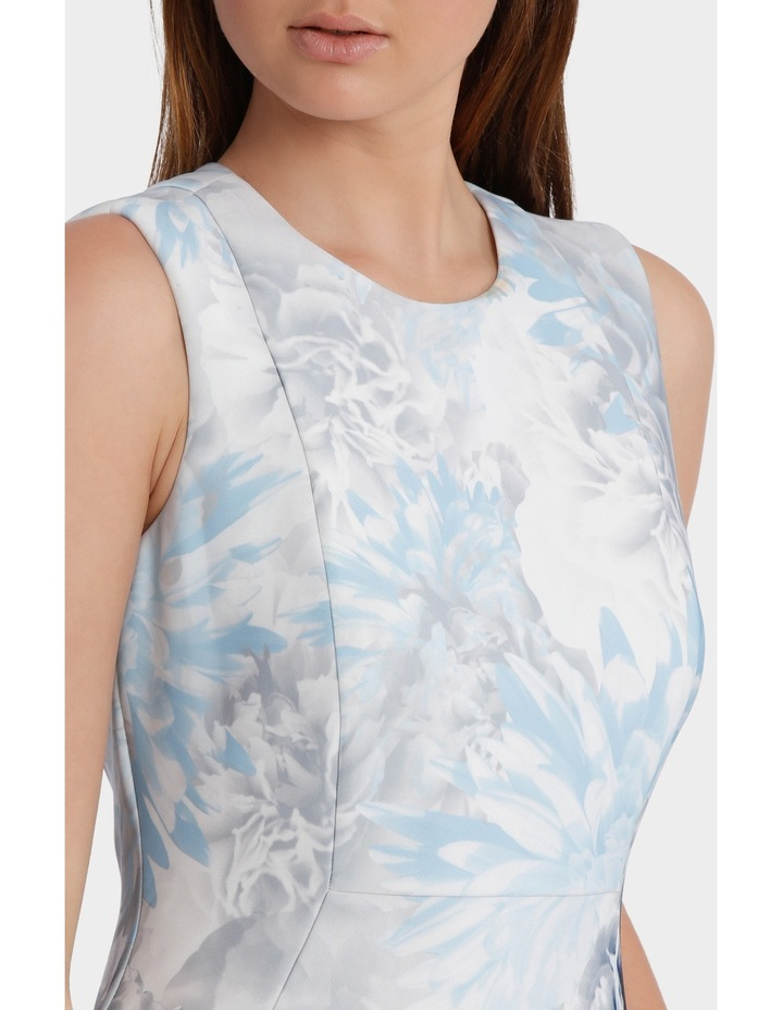 Printed Scuba Dress image 4