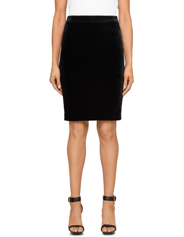 Velvet Pencil Skirt image 1