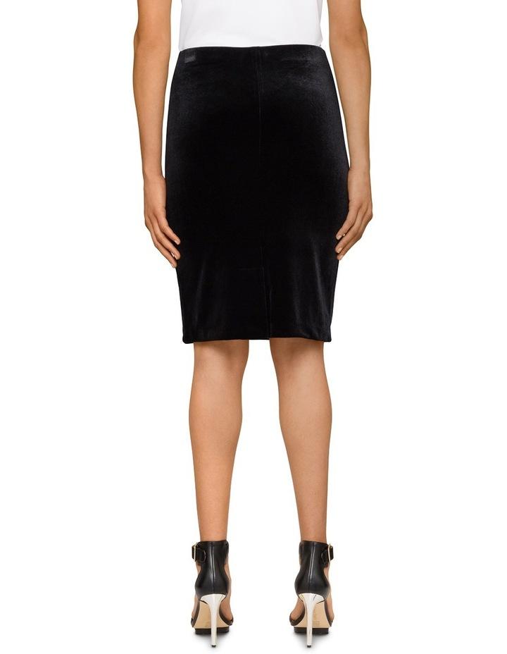 Velvet Pencil Skirt image 2