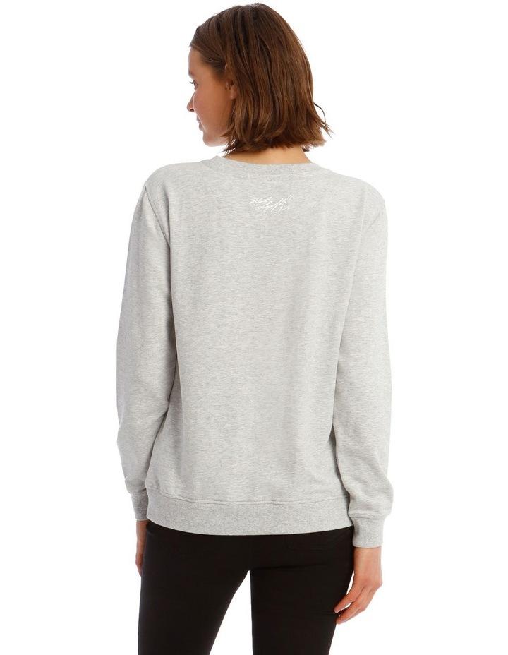 Sequin Eiffel Tower Sweatshirt image 3