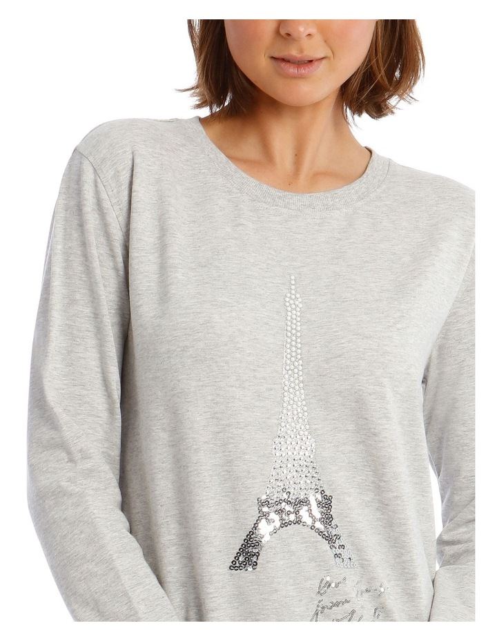 Sequin Eiffel Tower Sweatshirt image 4